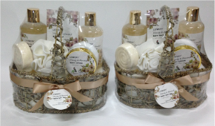 Luxury Rosemary & Mint Bath Gift Set for Walmart 1