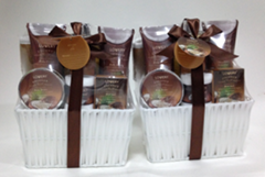 Milky Coconut Bath Gift Set,spa gift set promotion