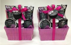 Enchanted Orchid Bath Gift Set