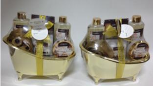 White Rose & Jasmine Bath Gift Set 1