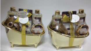 White Rose & Jasmine Bath Gift Set
