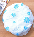 High quality terry cloth shower cap with factory price