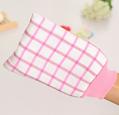High quality artificial silk bath glove for shower