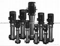 QDLF不鏽鋼立式多級離心泵