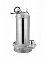 家用型單相220V全自動不鏽鋼潛水電泵 1