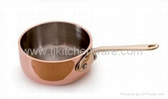 2.8''  Mini Saute Pan, Bronze Handle