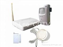 GSM Alarm system, with DVR camera