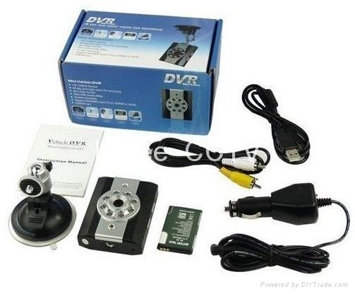 Night Vision Car Video Recorder with Easy Installation  5