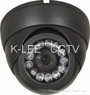 IR Dome Camera, SONY 1/3 CCD, 12leds, audio 2