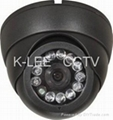 IR Dome Camera, SONY 1/3 CCD, 12leds, audio