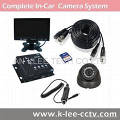 1Ch DVR System, Mobile DVR system, Taxi Camera System