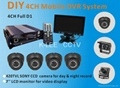 4CH Mobile Security System, WIFI/GPS