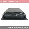 8 canales DVR movil con 3G GPS WIFI G-sensor