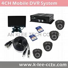 4CH Mobile Camera System, GPS optional