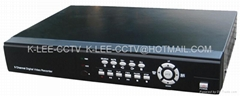 8Ch Standalone DVR, mobile phone viewing, RJ45