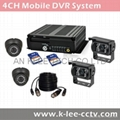 4CH Mobile Camera System, 3G/WIFI/GPS