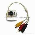 Mini Camera, Fisheye, Color, night vision