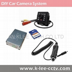 1ch DVR System, Car Camera System, Mobile Video System