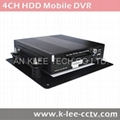 4CH HDD Mobile DVR with HDD Recording