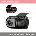 Mini Car Video Recorder Car DVR HD720p Driving Video Recorder 1
