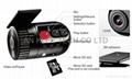 Mini Car Video Recorder Car DVR HD720p Driving Video Recorder 2