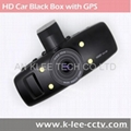 HD Car Black Box with GPS G-sensor