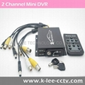 2 Channel Mobile DVR with 128GB SD