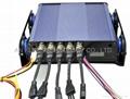 4 canales DVR móvil with 3G GPS WIFI