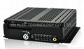 4 Channel SD Mobile DVR with 3G GPS WIFI Panic Button