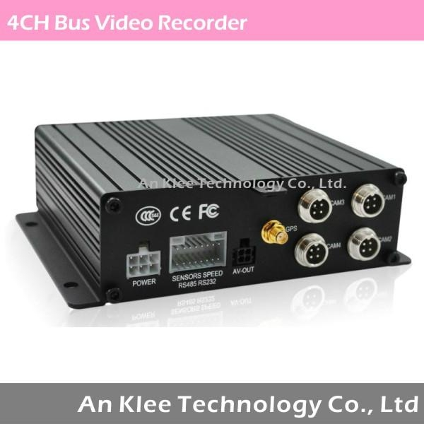 4 Channel Vehicle Video Recorder with GPS