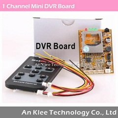 1 Channel DVR Board with Audio Video for DIY Use