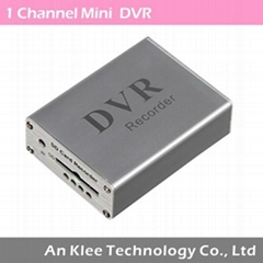 1 Channel Mini DVR for Car, Home Use