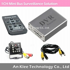 1 Channel Mini Bus Video Surveillance Solution
