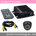 1 Channel Vehicle CCTV Camera Solution with Night Vision Cam