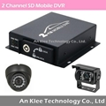 2 Channel Vehicle Video Camera Solution