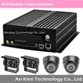 4 Channel HDD Mobile Camera Solution with 3G GPS WIFI