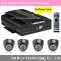 Hot 4 Channel HDD Bus Video Recorder
