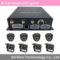 8 Channel SD Mobile DVR with 3G GPS WIFI