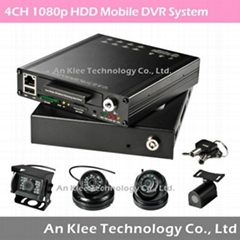 1080p Vehicle Video Recorder with 2TB HDD