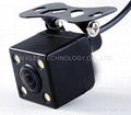 Night Vision Rearview Car Camera with Waterproof Feature