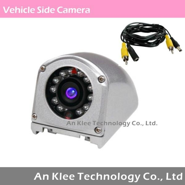 Waterproof Vehicle Camera for Left Right Side Use