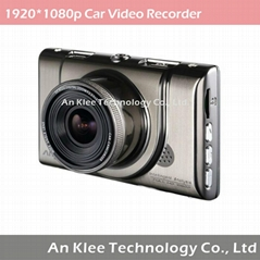 1920*1080p WDR Car Video Recorder with 170 Degree