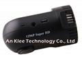 2560*1296p Ambarella A7 Car Black Box Recorder with GPS 128GB
