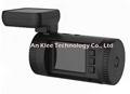 2560*1296 Ambarella A7L50 Car Camera Recorder with GPS 128GB