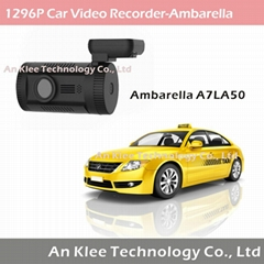 2560*1296 Ambarella A7L50 Car Camera Recorder with GPS 128GB