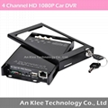 1080P HD Mobile Video System with 4 HD Camera