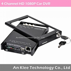 1080P HD Mobile Video System with 4 HD Camera  (Hot Product - 1*)