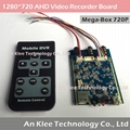 1280*720p AHD Video Recorder Board 128GB 30fps Audio Video Motion Detection