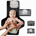Portable Baby Changing Pad, Diaper Bag Changing Mat for Anywhere Use