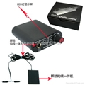 LED Tattoo Power Supply with footswitch and clipcor